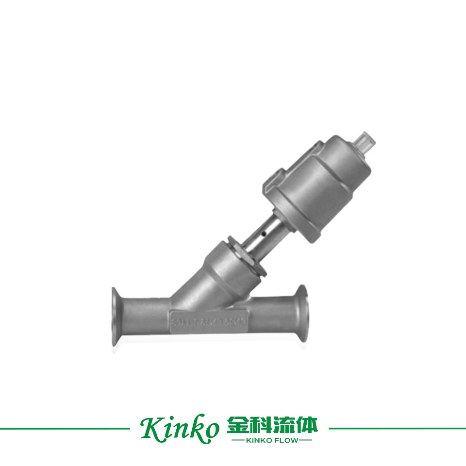 Stainless Steel Quick-join Angle Seat Valve
