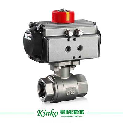 Pneumatic 1PC Ball Valve