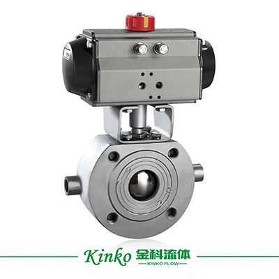 Pneumatic Insulation Wafer Ball Valve