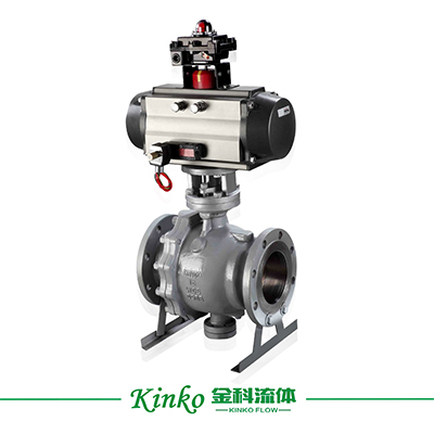 Pneumatic Fixed Ball Valve