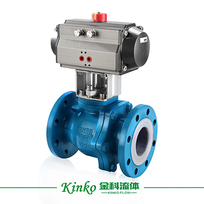 Pneumatic Lined Ball Valve
