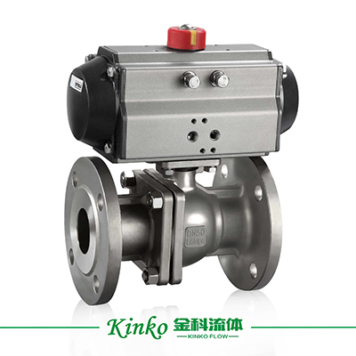 Pneumatic High Platform Ball Valve