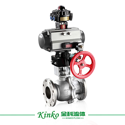 Pneumatic O-typed Cutting-off Ball Valve