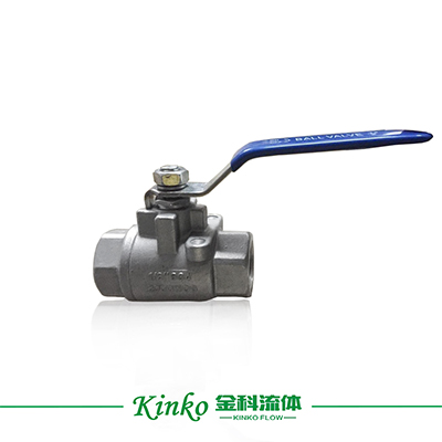2PC Manual Thread Ball Valve