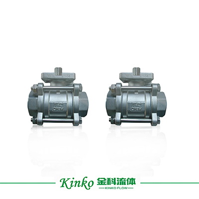 3PC High Platform Ball Valve