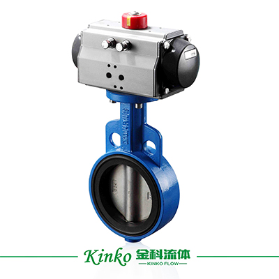 Pneumatic Wearable Butterfly Valve