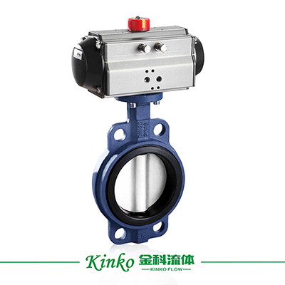 Pneumatic Soft-seal Butterfly Valve