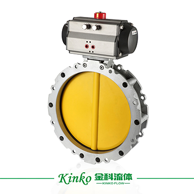 Pneumatic Ventilation Butterfly Valve