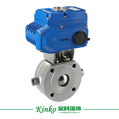 Electric Insulation Wafer Ball Valve