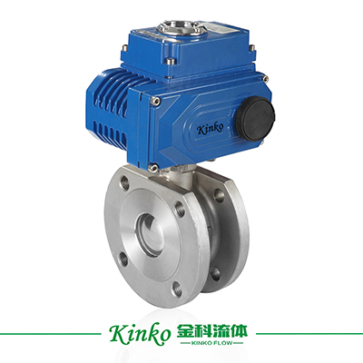 Electric Italian thin type Ball Valve