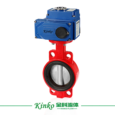 Electric Rubber Butterfly Valve