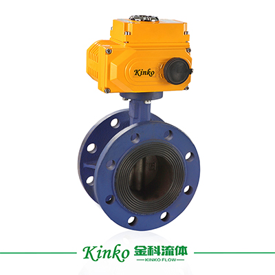 Electric Flanged Butterfly Valve