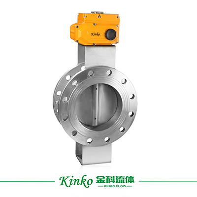 Electric Hard-sealFlanged Butterfly Valve