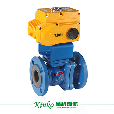 Electric Lined Ball Valve