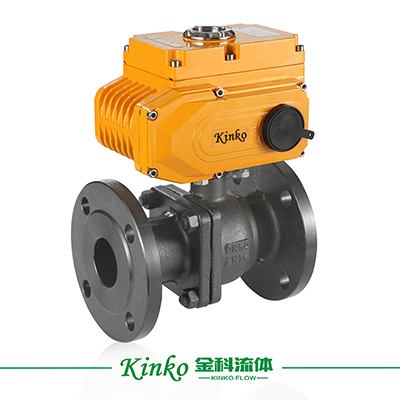 Electric Flanged Ball Valve