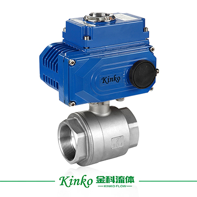Electric 2PC Ball Valve