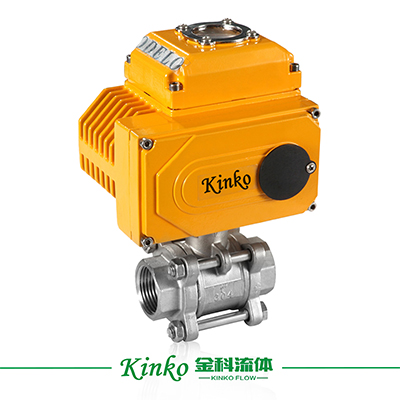 Electric 3PC Thread Ball Valve