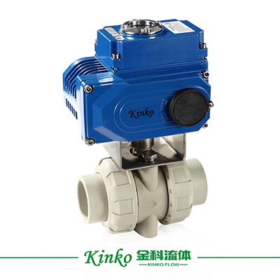 Electric PVDF Ball Valve