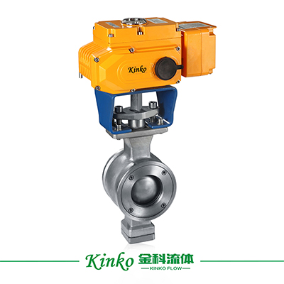 Electric V-typed Ball Valve