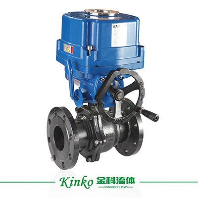 HQ Electric Flanged Ball Valve