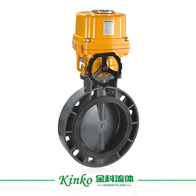 HQ Electric PVC Butterfly Valve